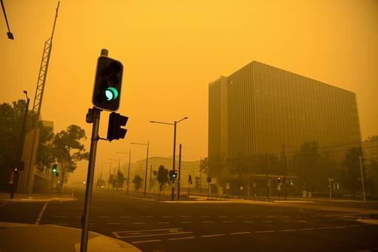 De luchtkwaliteit boven Canberra is momenteel de slechtste ter wereld.