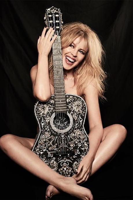Australische superster Kylie Minogue viert vijftigste verjaardag