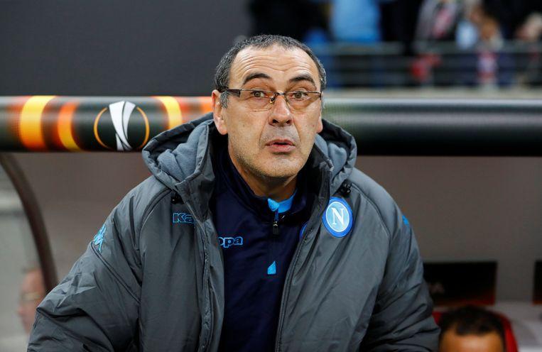 Deze Maurizio Sarri moet Conte opvolgen op Stamford Bridge.