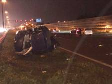 A2 richting Den Bosch weer open na ongeluk met meerdere auto's