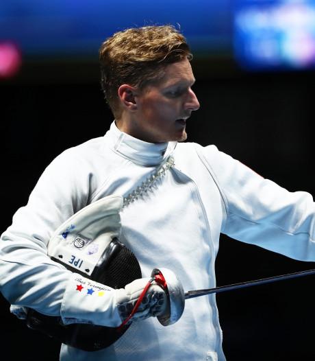 Ossenaar Bas Verwijlen zevende op WK schermen in Boedapest
