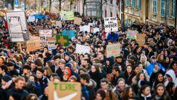 Ook in Zwitserland komen duizenden jongeren op straat voor het klimaat