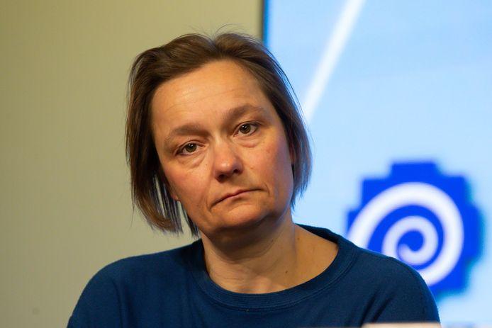 Erika Vlieghe est à la tête du service des maladies infectieuses à l'UZ Anvers