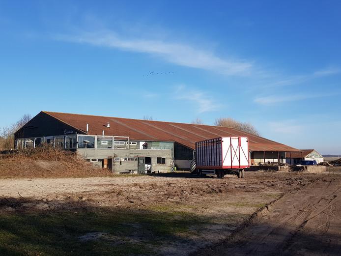 Op 1 maart is begonnen met de sloop van manege Lisidina in Burgh-Haamstede.