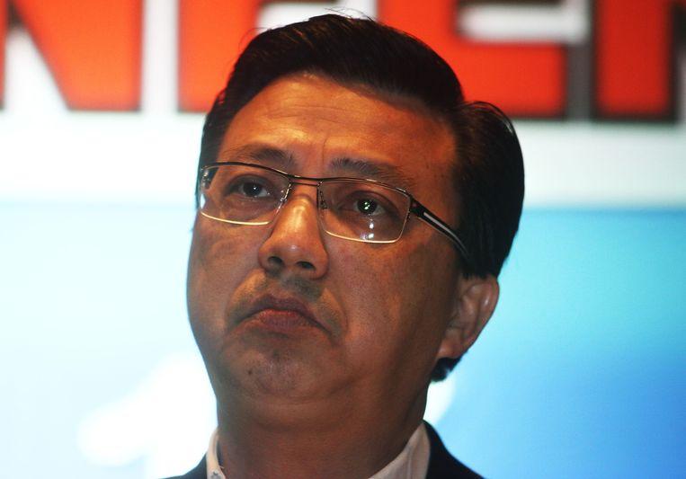 De Maleisische minister van Transport, Liow Tiong Lai.