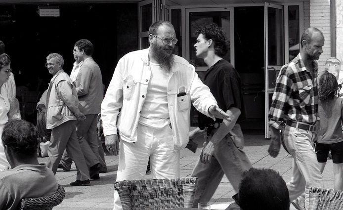 *Arnol Kox*, de stadsprediker in 1992 in de stad in Eindhoven