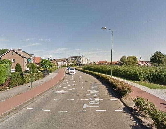 De Ten Ankerweg in Tholen.