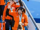 Nederlandse olympiërs geland op Schiphol