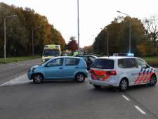 Auto's botsen op elkaar in Nijmegen