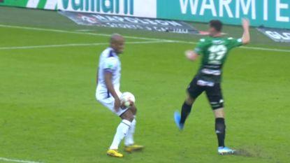 Voetbalbond vindt in wekelijkse evaluatie niet dat Cercle een strafschop had moeten krijgen tegen Anderlecht