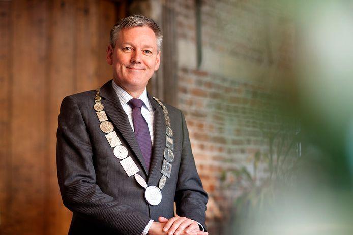 Antoin Scholten, burgemeester van Venlo en voorzitter Regio Venlo