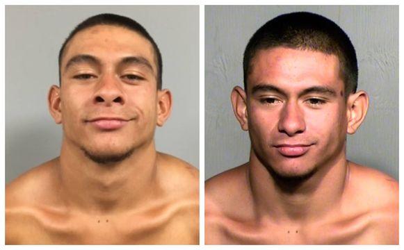 Ook op de 'mugshots' liet Jose Vega Meza (21) een glimlach niet achterwege.