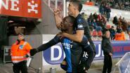 Club mist ook tegen Zulte Waregem flink wat kansen, maar wint wel na goals Diagne en Okereke