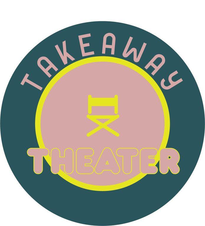 Het logo van Takeaway Theater.