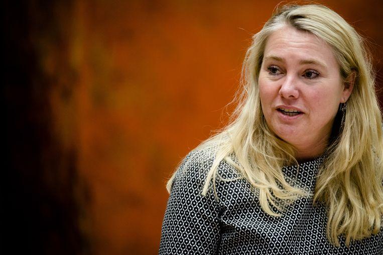 Demissionair minister Melanie Schultz van infrastructuur Beeld ANP