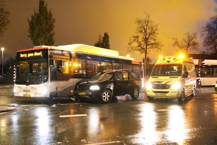 Het ongeluk op de Erasmusweg in Den Haag.