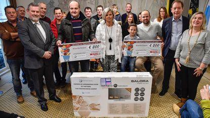 Winnaars 'Ondernemend Hamme' ontvangen prijzen