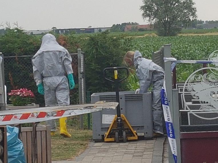 Drugslab opgerold in Diksmuide.