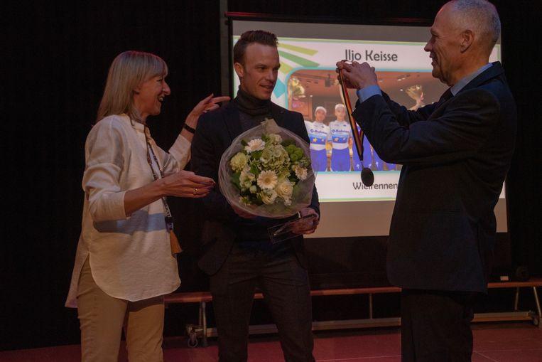 Iljo Keisse is Sportman van het jaar in Destelbergen.