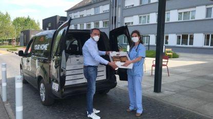 """Waregems bouwbedrijf beloont zorgpersoneel met 1.500 gebakjes: """"Even genieten na al die zware weken"""""""