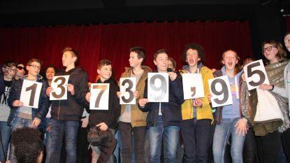 SLC zamelt 13.739 euro in voor Damiaan
