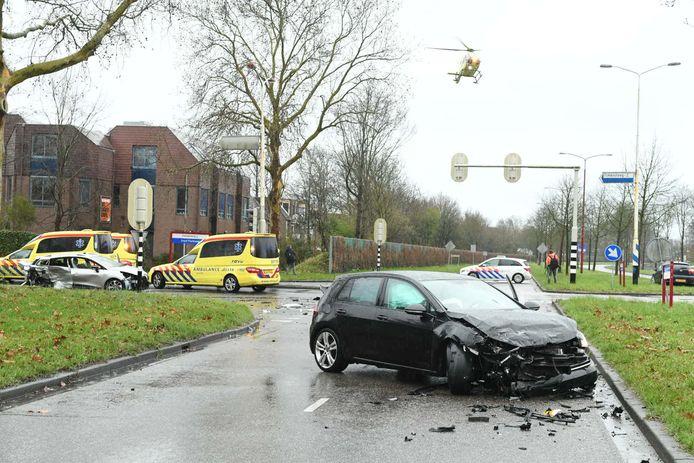 Bij een ongeluk op de kruising van de Graaf Florisweg en de 's-Gravenhoutseweg in Nieuwegeineen kwam in maart een 8-jarig kind om het leven .