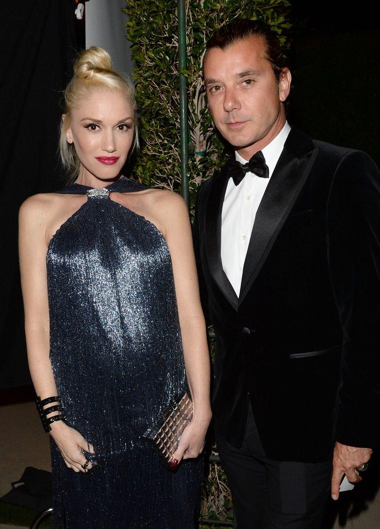 Gwen Stefani en Gavin Rossdale in betere tijden.