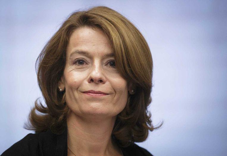 Merel van Vroonhoven, de bestuursvoorzitter van de AFM, wil docent in het speciaal onderwijs worden. Beeld ANP