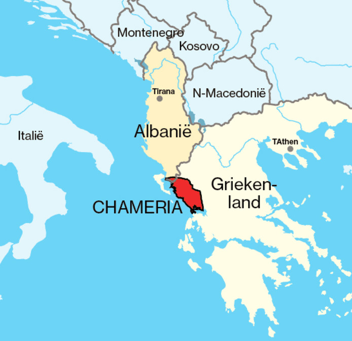 De regio Chameria