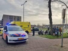 Vrouw op scooter geschept door auto in Tilburg