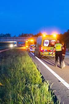 Beschonken Spaanse veroorzaakt ongeval op A50