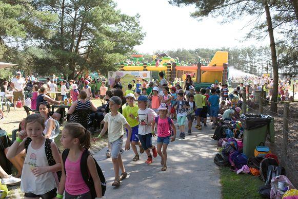 Er waren zo'n 6.000 kinderen aanwezig op Bengelpop.