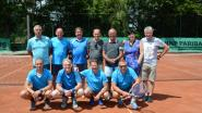 Vrienden- en veteranenploeg tennisclub Sint-Christoffel is provinciaal kampioen