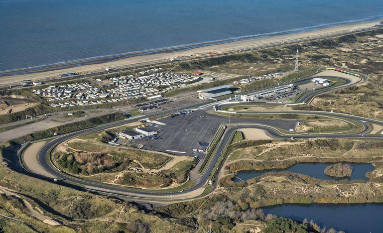 Het circuit van Zandvoort vanuit de lucht. Beeld ANP