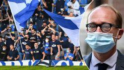 """Minister van sport Ben Weyts halveert capaciteit Luminus Arena: """"Clubs die hun gat verbranden, moeten op de blaren zitten"""""""