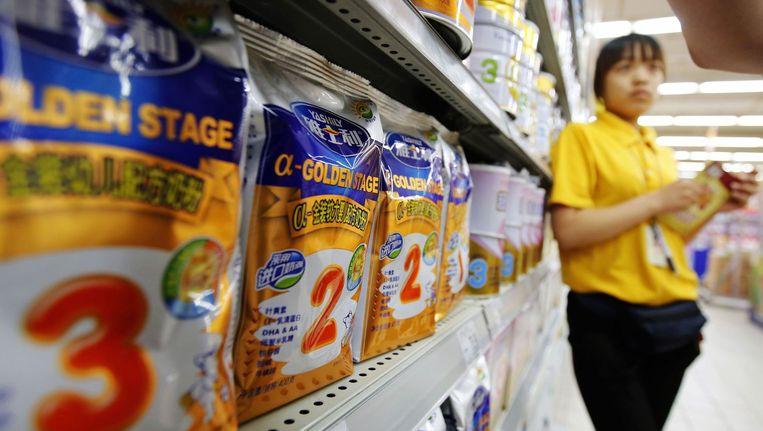 In China werd in 2008 de giftige stof melamine aangetroffen in een lokaal product.
