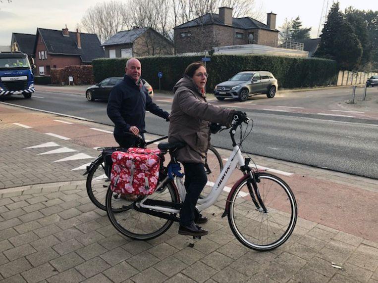 Johan Geleyns (CD&V) en Karin Brouwers (CD&V) leggen zich niet neer bij de beslissing van minister Ben Weyts (N-VA).