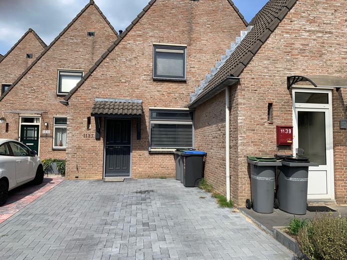 De woning van verdachte Menno O. in Wijchen, waar de politie dinsdagochtend een inval deed.