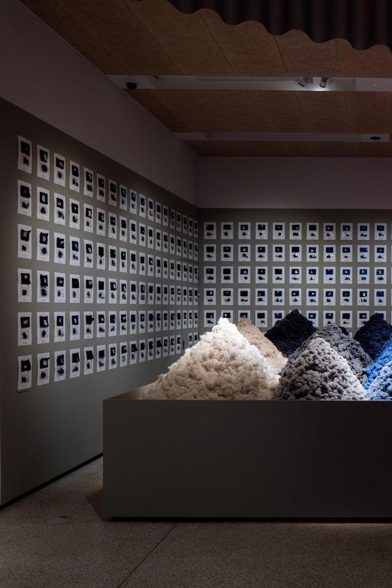 Binnen in het nieuwe Design Museum in Londen. Beeld Gareth Gardner