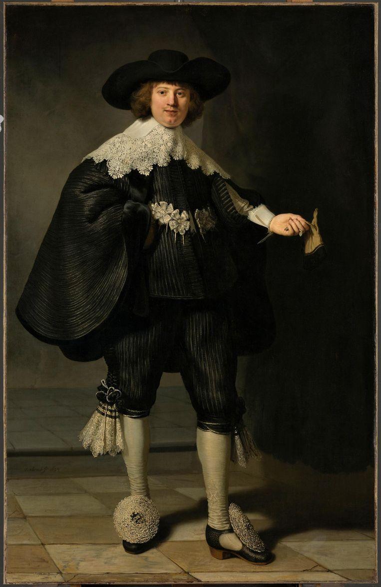 1. De rijk uitgedoste Maarten Soolmans. Beeld Rijksmuseum