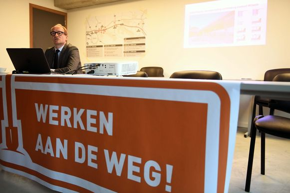 Minister Ben Weyts presenteert de geplande werkzaamheden voor Leuven Noord.