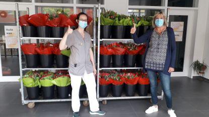 Sint-Vincentius krijgt gratis bloemenruikers