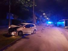 Beschonken bestuurder ramt wegafzetting in Nunspeet