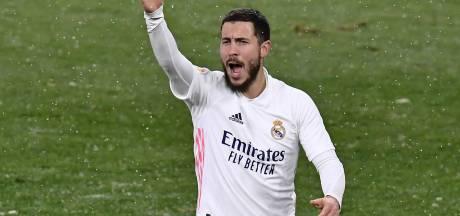 Le Real perd deux points pour le retour d'Eden Hazard dans le onze