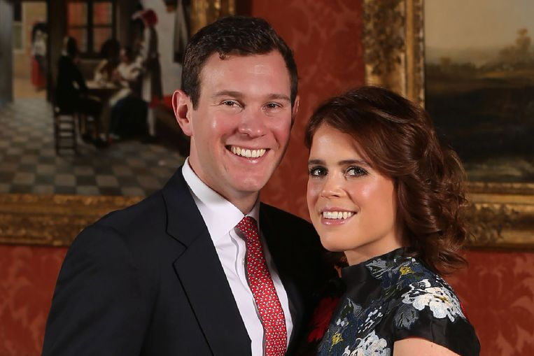 Jack Brooksbank en prinses Eugenie.