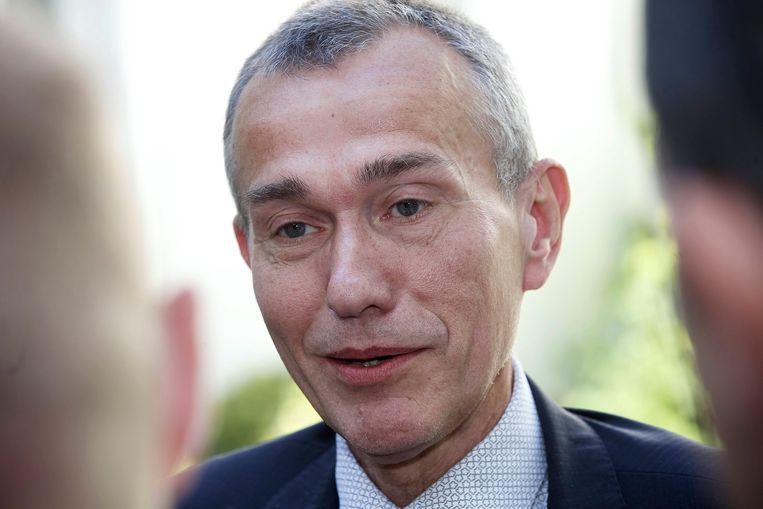 Voormalig sp.a-minister Frank Vandenbroucke