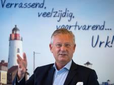 Burgemeester Pieter van Maaren: 'Jammer dat Urk geen eiland is gebleven'