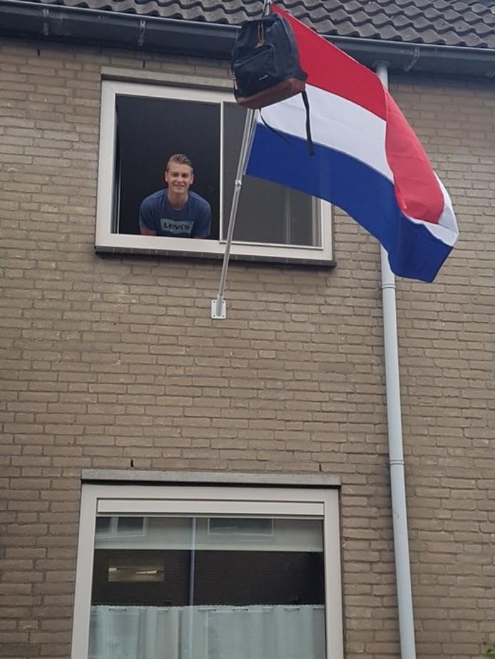 Robin Warmerdam  (16) uit Spijkenisse.