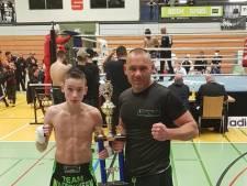 12-jarig kickbokstalent Mels uit Boskoop Europees kampioen