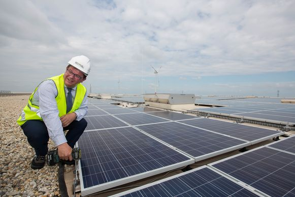 Minister van Energie Bart Tommelein (Open Vld)